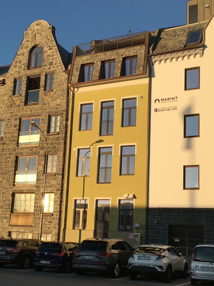 Kongens Gate Plot Arkitekter Arkitekt Ålesund